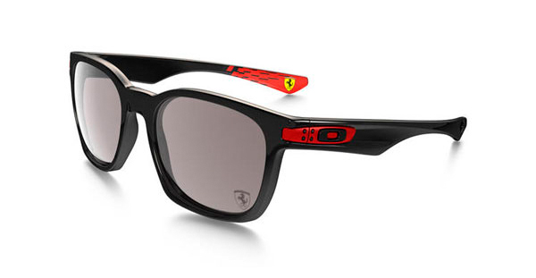 Imagen de las gafas de la Scuderia Ferrari del sorteo de Zamarripa