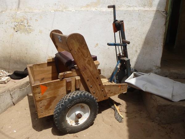 silla ruedas de baye laye