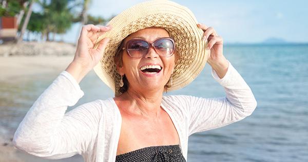 utilizar gafas de sol en verano