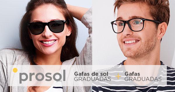 pack prosol de gafas graduadas y gafas de sol