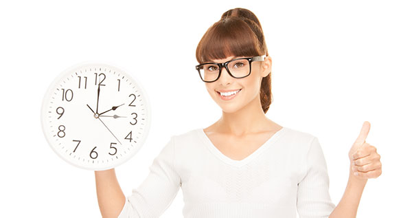 cómo influye el cambio de hora en la vista