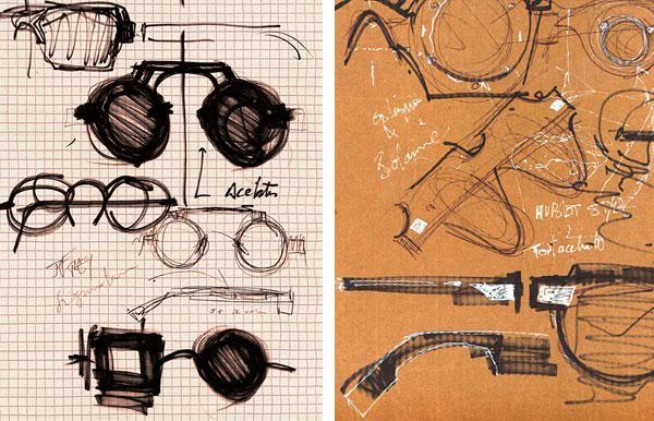 Diseños de Jean-François Rey hechos a mano