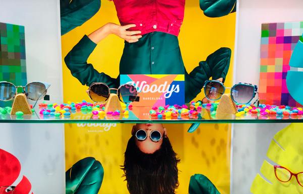 Gafas de la marca Woodys Barcelona