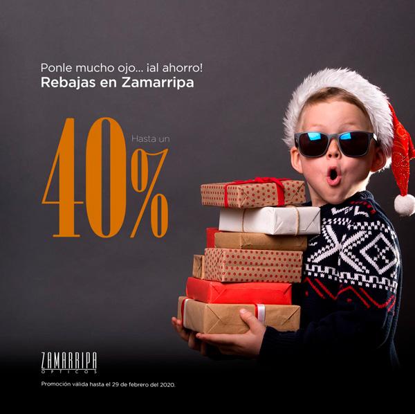 Rebajas en Zamarripa hasta un 40% de descuento