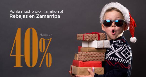 Rebajas de enero en Zamarripa Ópticos. Hasta un 40% de descuento