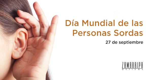 Día Mundial de las Personas Sordas
