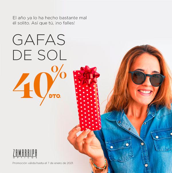 40% Descuento gafas de sol zamarripa ópticos